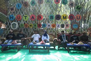 Wisata Hutan Bambu Lumajang Jadi Tuan Rumah Temu Jaringan Ekowisata Tahun 2020