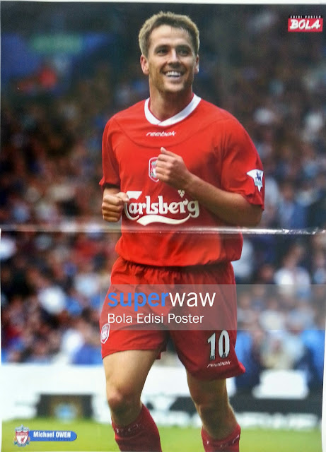 Poster Michael Owen (Liverpool)