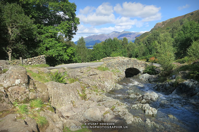 Ashness Bridge keswick walk derwent water