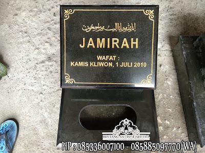Harga Nisan Kuburan, Nisan Kuburan Islam, Nisan Batu Granit