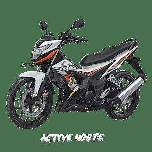 Sonic 150 Active White  Nagamas Motor Klaten