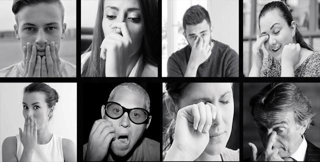دراسة لماذا يصعب على البشر الامتناع من لمس منطقة الوجه