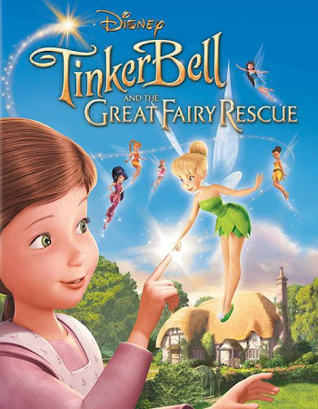 Poster Of Tinker Bell and the Great Fairy Rescue 2010 In Hindi Bluray 720P Free Download