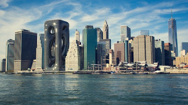 The boldly high-building architecture designs