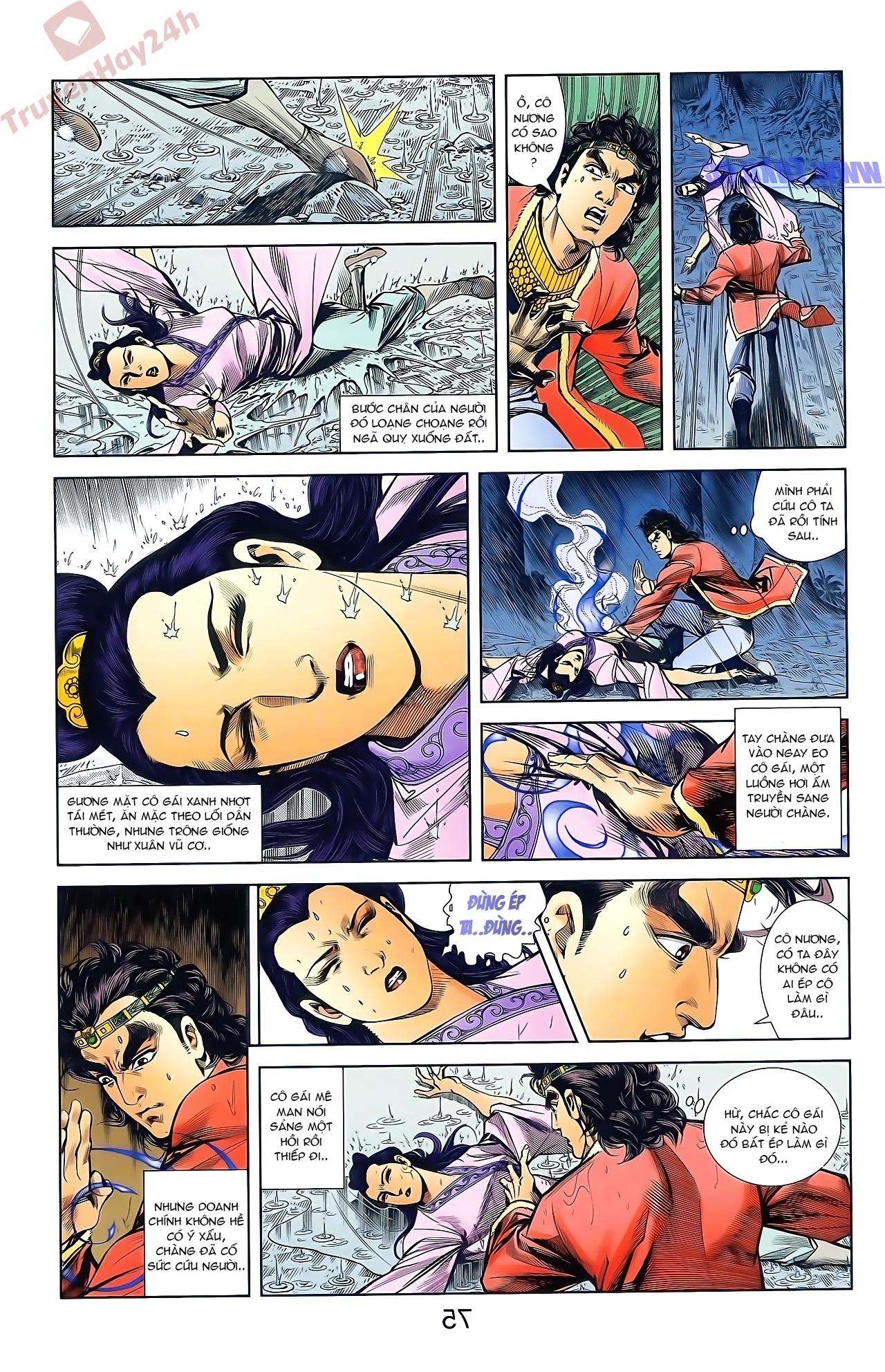 Tần Vương Doanh Chính chapter 47 trang 11
