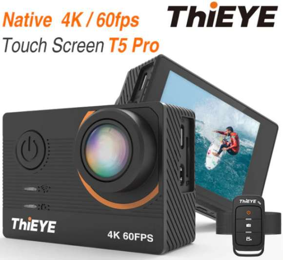 thieye t5 pro best sport action 4k camera