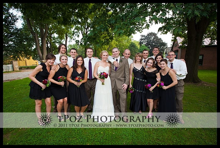Landis Valley Museum Wedding Bridal Party Pictures