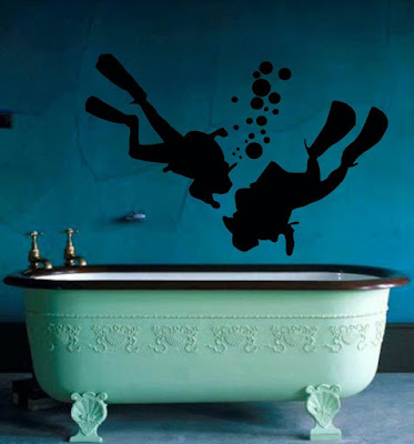 Scuba Divers Wall Decals