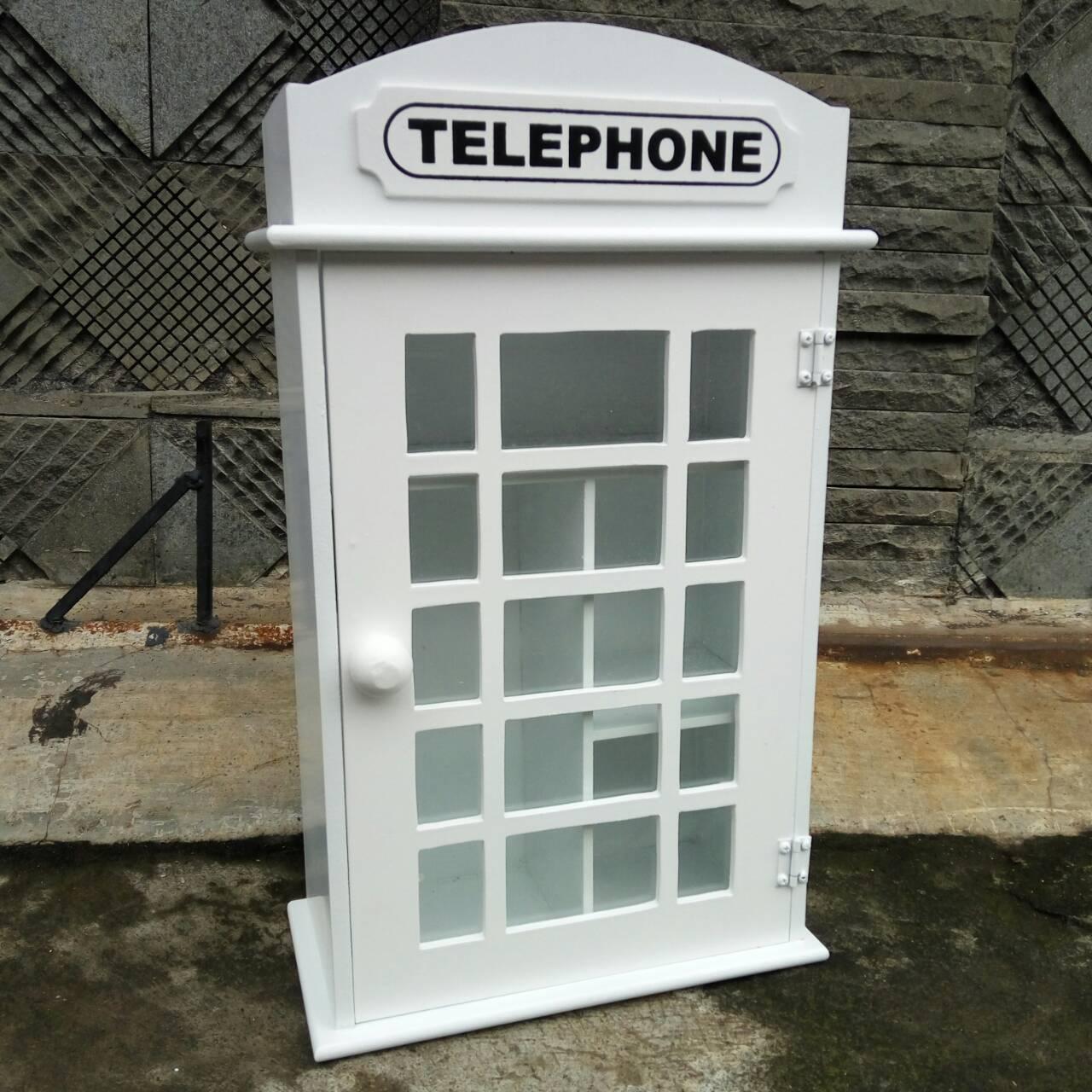SIMPLE MEJA BELAJAR ANAK: Kotak Obat Phonebox London