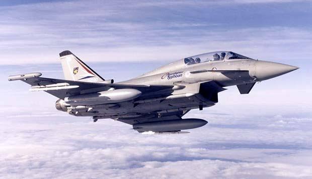 Prabowo Ingin Beli 15 Jet Typhoon dari Austria