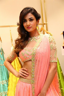 Sonal Chauhan in Designer trends at Lakme Fashion Week Festive Trends Launch 2017