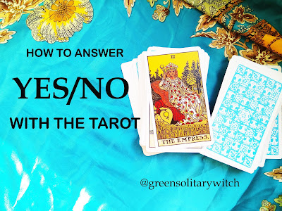 How to Answer Yes/No Questions With a Tarot Deck