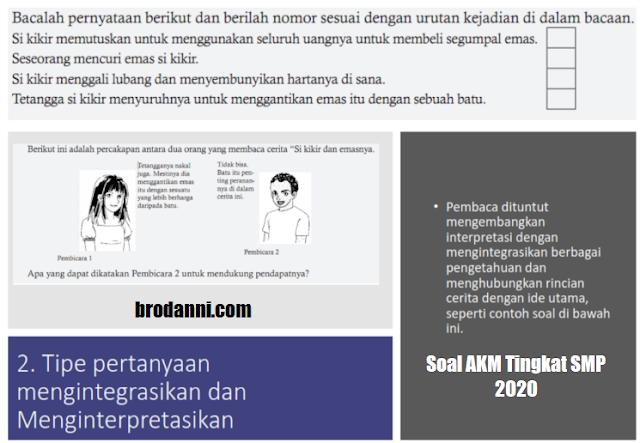 soal akm smp 2020