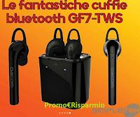 Logo Gioca e vinci gratis in regalo le fantastiche Cuffie Bluetooth GF7-TWS
