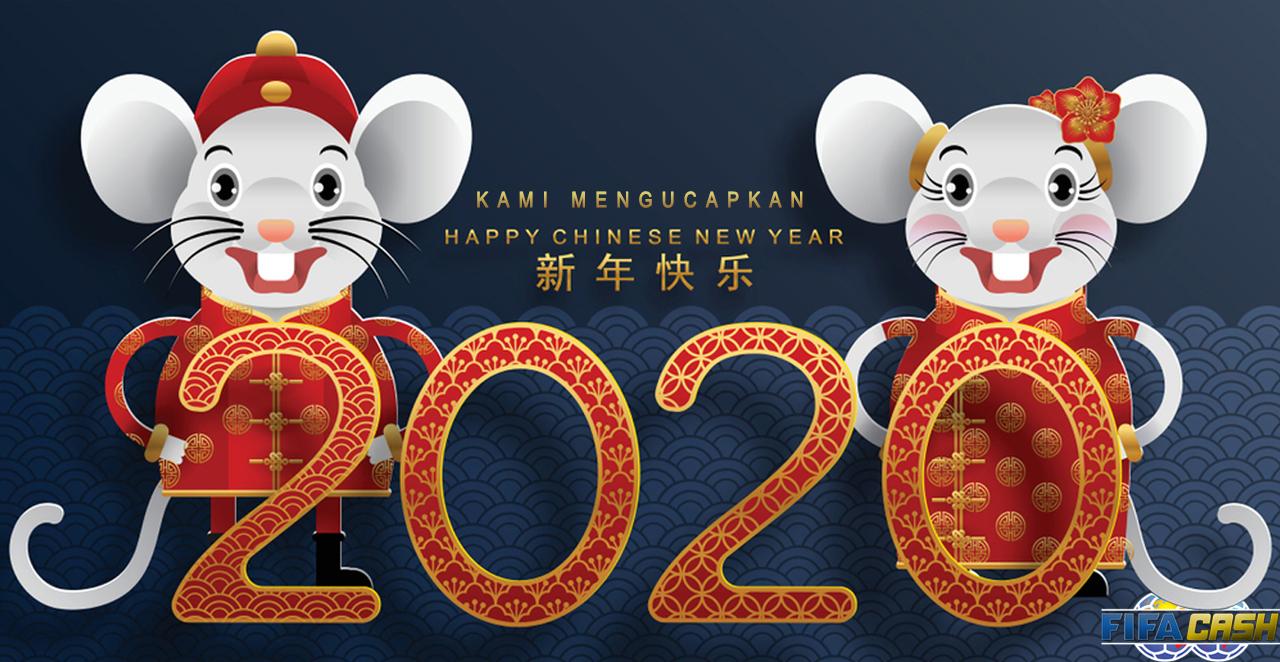 Selamat Tahun Baru Imlek 2020
