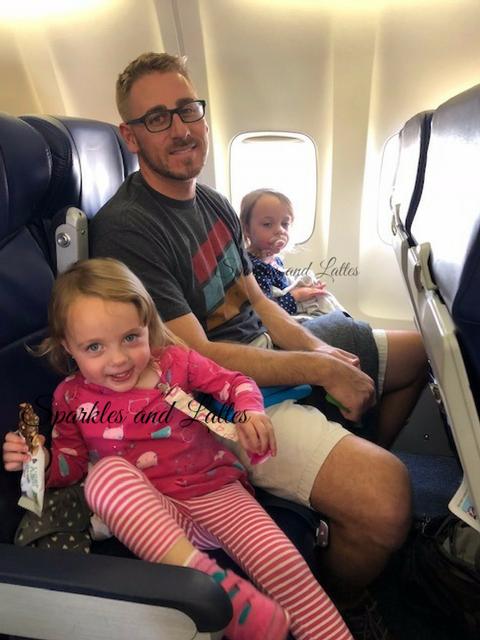 twins on a plane