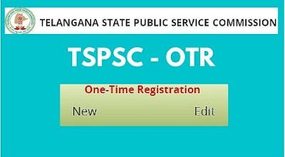 TSPSC_One_Time_Registration