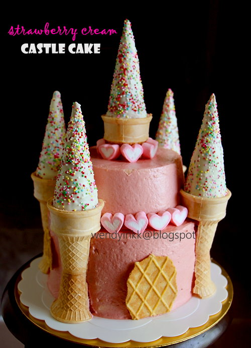 Cake Made With Ice Cream