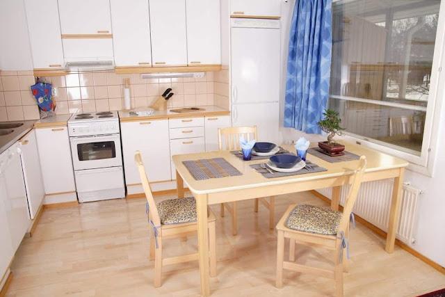 Inspirasi Ide Desain Dapur Minimalis Asiadengan warna muda dan putih feminim