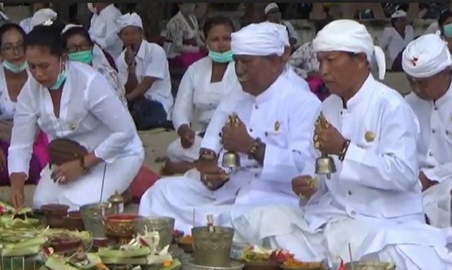 Klaster Upacara Adat di Bali Meluas, Sejumlah Pemangku Positif Covid-19