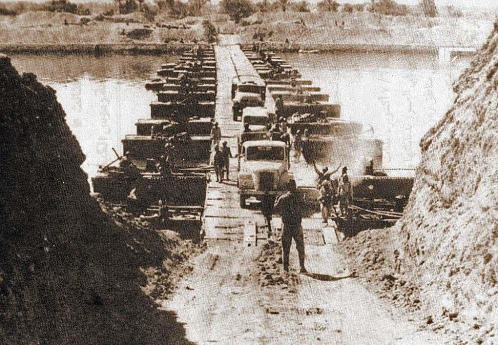 الجيش المصرى وقت العبور