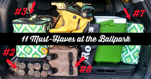 A comprehensive list of what baseball moms need at the ballpark. From wagons to portable fans, this list covers all the must-haves (with a few laughs too!)