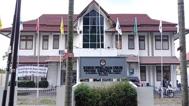 Hari Ini KPU Sumbar Tetapkan Anggota DPRD Sumbar Terpilih