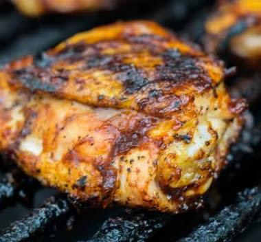 Chili Rubbed Chicken Recipe