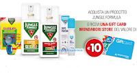 Logo Con Jungle Formula ricevi Gift Card Mondadori Store da 10 euro come premio certo
