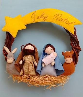 Decoração Natalina com inspiração no Advento