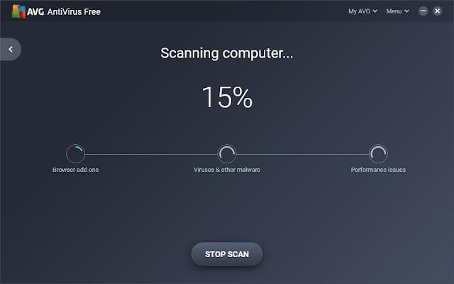 AVG Scanning