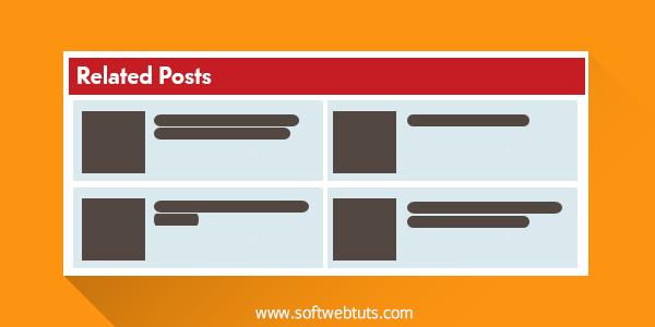 Related Posts Blogger Widget 2 Column Style