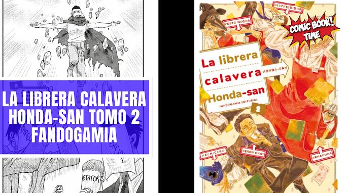 "Manga reseña: ""La librera calavera Honda-san"" Tomo 2 | Editado por Fandogamia"