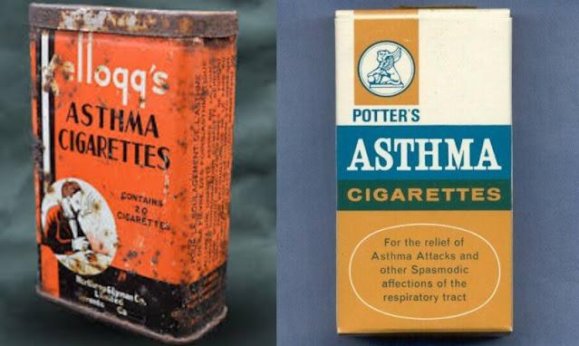 Rokok untuk rawatan asthma