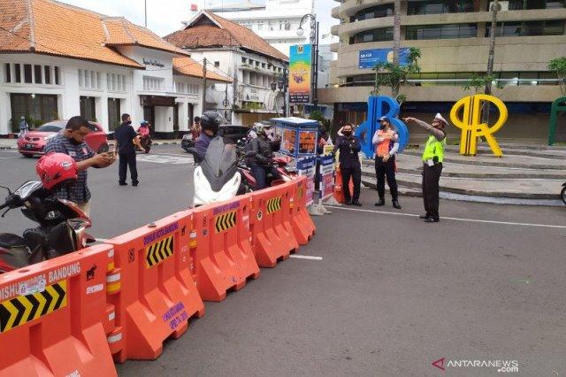 Long Weekend, Polisi Tutup 35 Jalan di Kota Bandung