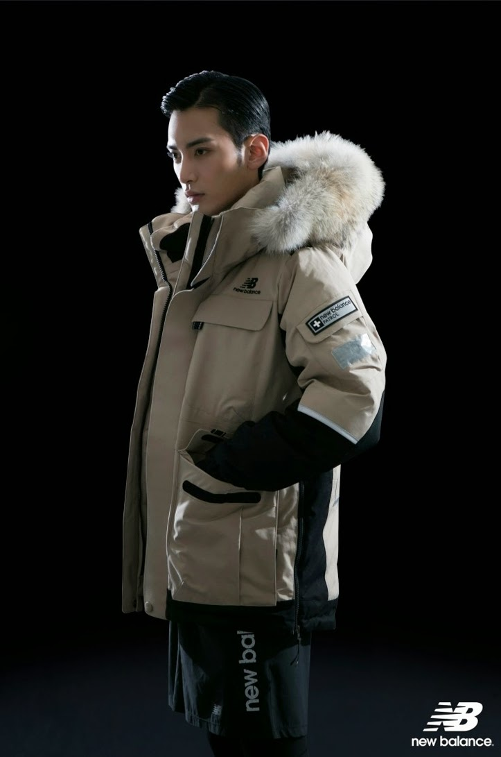 Agencygarten 2014 November Newbalance Patrol Down Jacket Model Kim