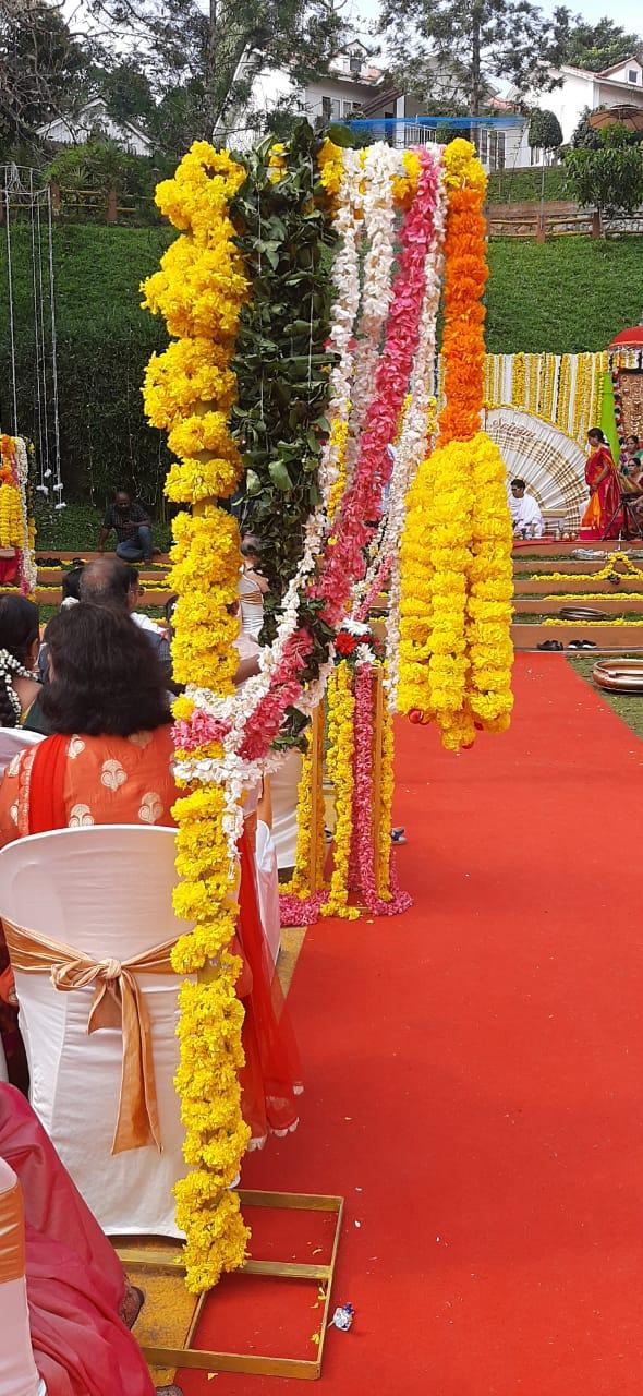 Pathway Decoration Kerala