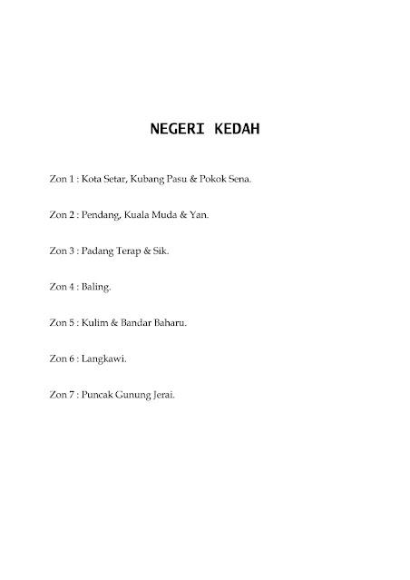 Jadual Waktu Imsak Dan Berbuka Puasa Negeri Kedah 1442H