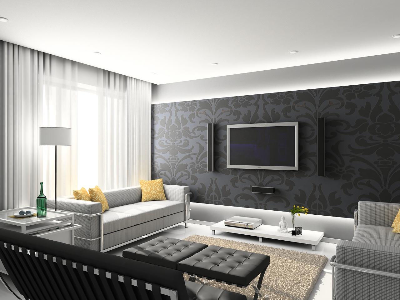 Desain Interior Ruang Keluarga Modern  Rumah Minimalis