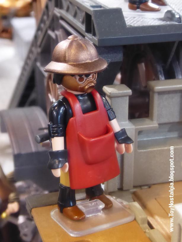 Diorama Playmobil SteamPunk (Cocheras de Sants - 2020)