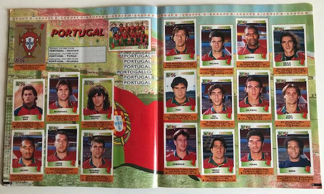 Figurine Portogallo Euro 96
