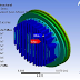 Finite element heat transfer analysis of the cylinder head of a SI engine