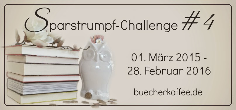 Sparstrumpf-Challenge #4 by BücherKaffee