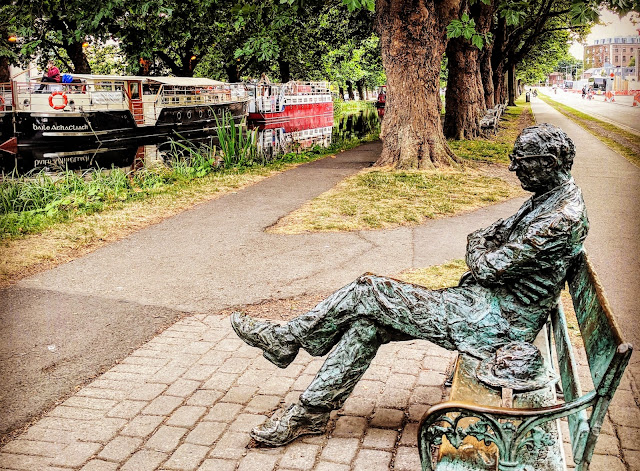Dublin Hidden Gems: Patrick Kavanagh Statue on the Grand Canal