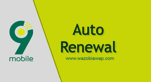 how to cancel auto renewal on 9mobile