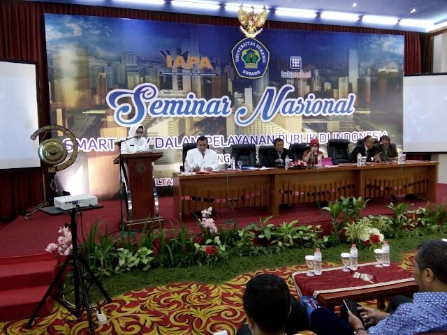 Seminar Nasional Smart City dalam Pelayanan Publik di Indonesia