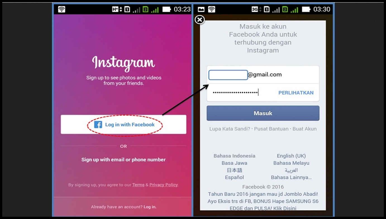 cara membuat akun instagram versi lama