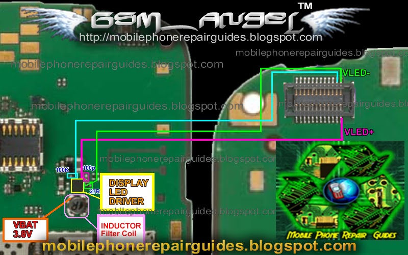 Nokia E5 Lcd Screen Display Led Light Problem Solution