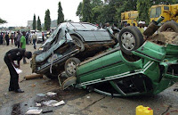 OGUN AUTO CRASH: SEVEN DEAD, 8 INJURED