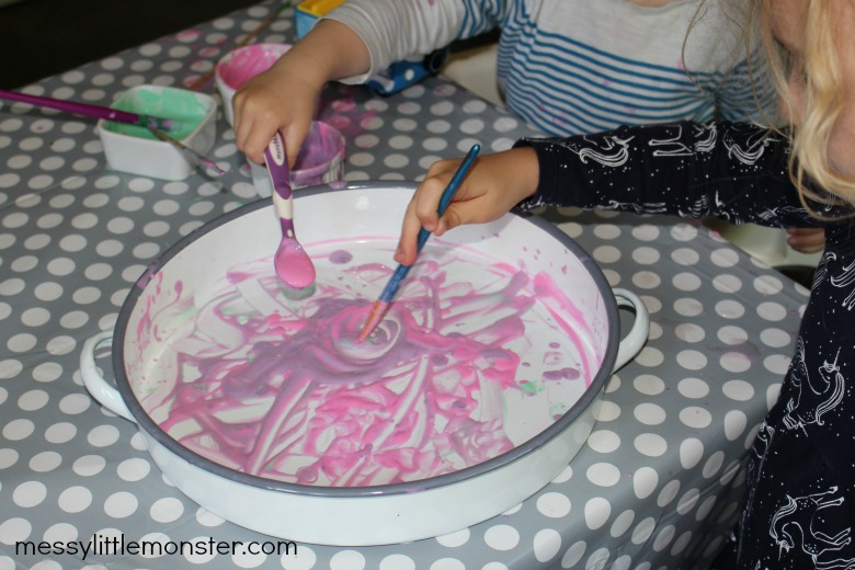edible paint recipe